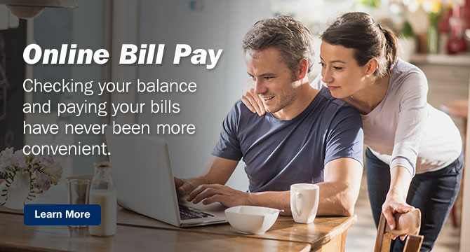 Checkingyourbalanceandpayingyourbillshaveneverbeenmoreconvenient